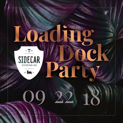 Loading Dock Party logo 2018